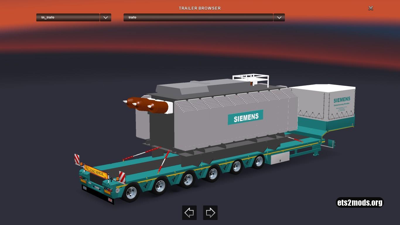 Trafo Siemens trailer mod [1.27]