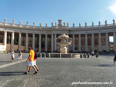 praca sao pedro guia brasileira roma - Como ver o papa em Roma