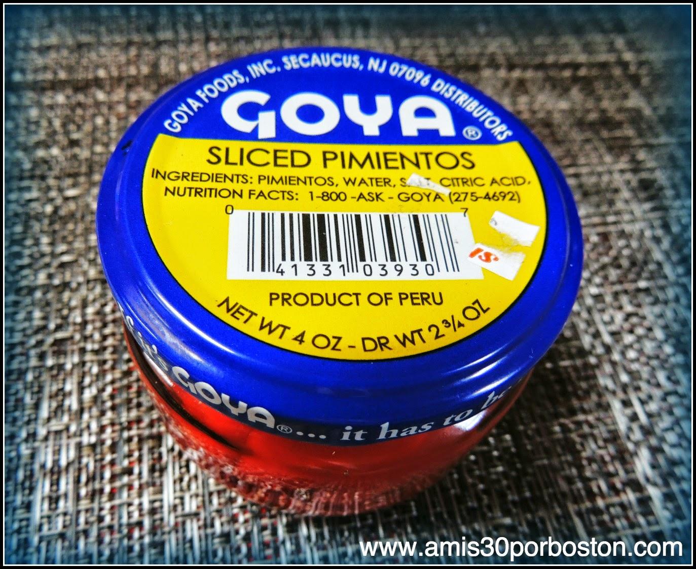 Goya: Pimientos
