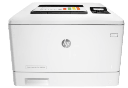 Image HP Color Laserjet Pro M452dn Printer Driver