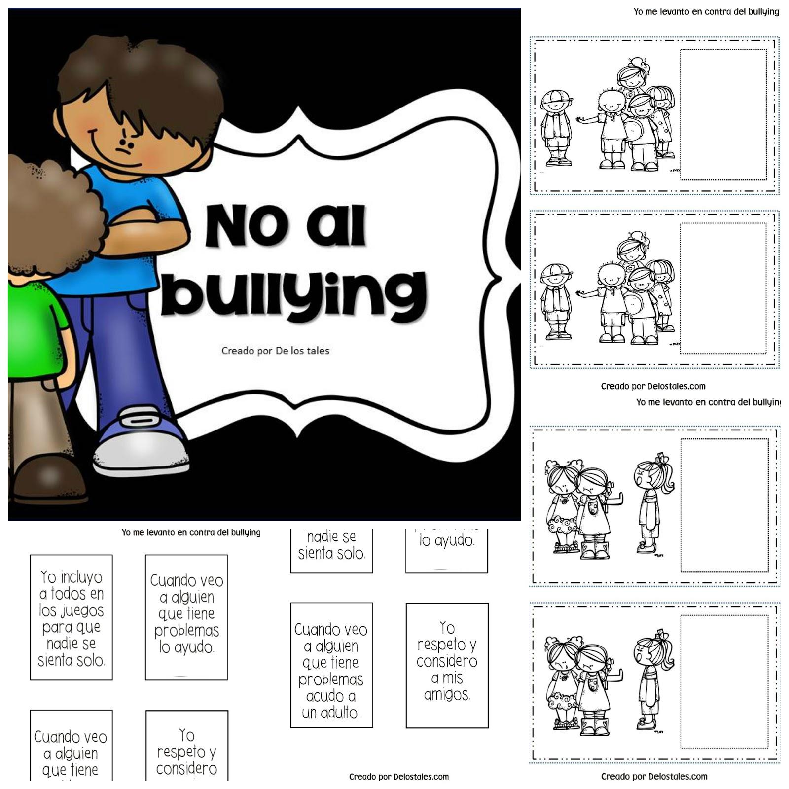 Encantador Bullying Para Colorear Motivo - Dibujos Para Colorear En ...