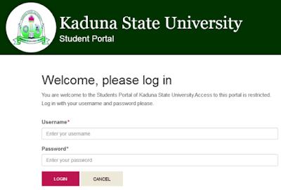Kaduna State University Add/Drop Registration Portal Opened