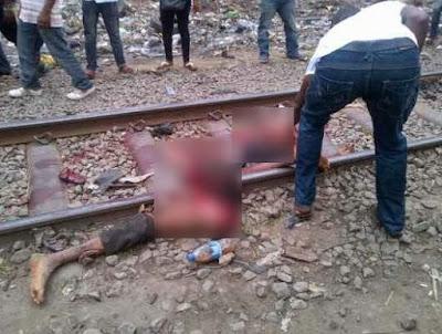 ट्रेन की चपेट में आने से युवक को मौत।