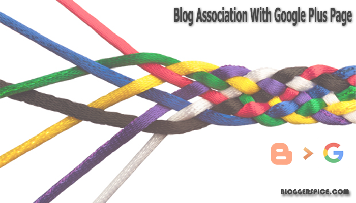 blog association with Google+