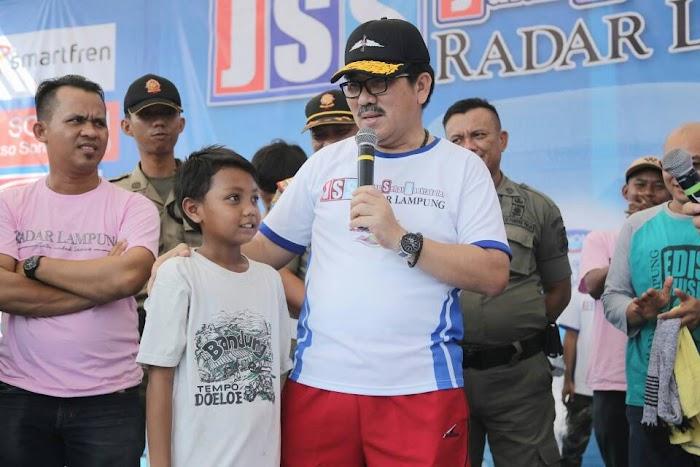 Yusuf Dapat Hadiah Umroh Dari Gubernur Lampung