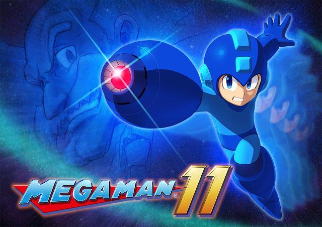Capcom anuncia Megaman 11 2018