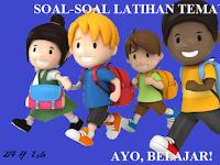 Soal Latihan UTS/PTS SD/MI  Semester 2 Kurikulum 2013