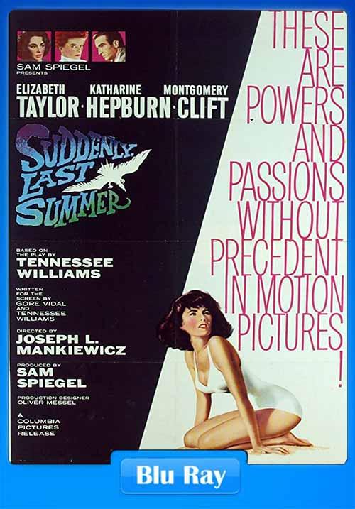 Suddenly Last Summer1959 BRRip 480p 300MB x264 Poster