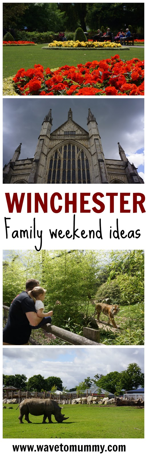 How to spend a weekend in Winchester with kids - ideas for a family weekend!