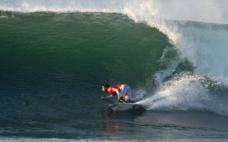 Michel Bourez - Rip Curl Pro Bells Beach Surf