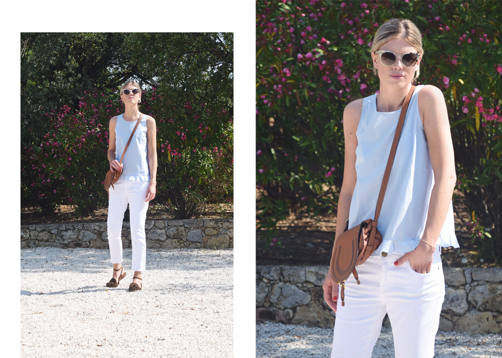 Outfit of the day, Current/Elliott, Zara, Miu Miu, Chloé, ootd, style, fashion, summer