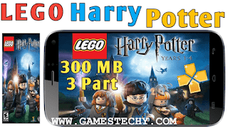 PSP Lego Harry Potter Years 5-7 PPSSPP ISO
