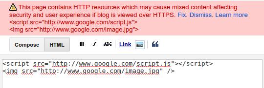 Blogspot обновил редактор сообщений
