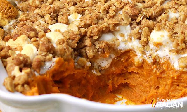 Boston Market Copycat Sweet Potato Casserole