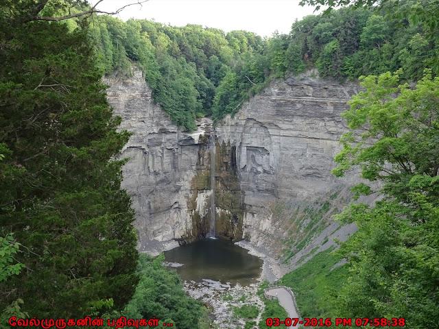 Taughannock Falls in New York