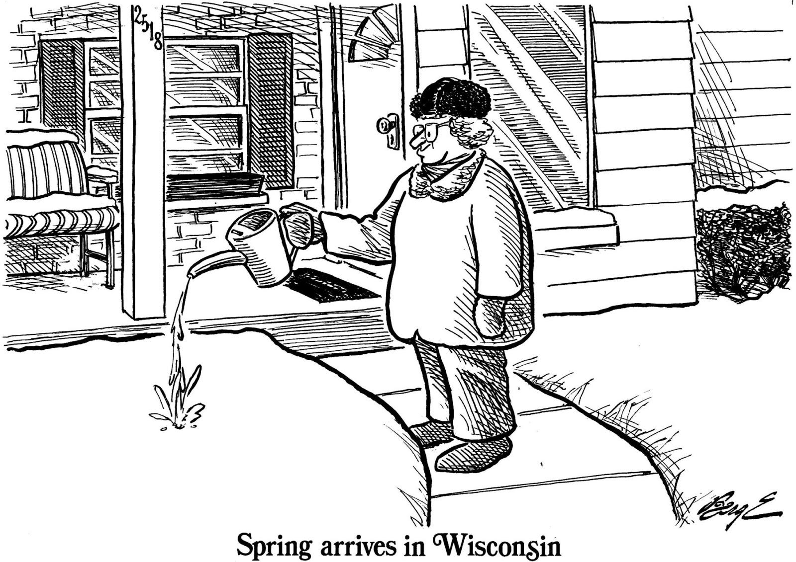 Berge's Cartoon Blog: Hath Spring Sprung?