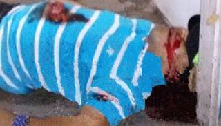 Persecución, muertos y narcomantas en Panuco la noche del martes.