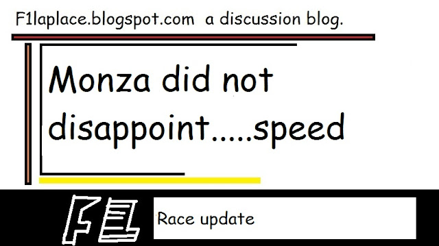 The Cathedral of Speed- Monza Gp did not disappoint