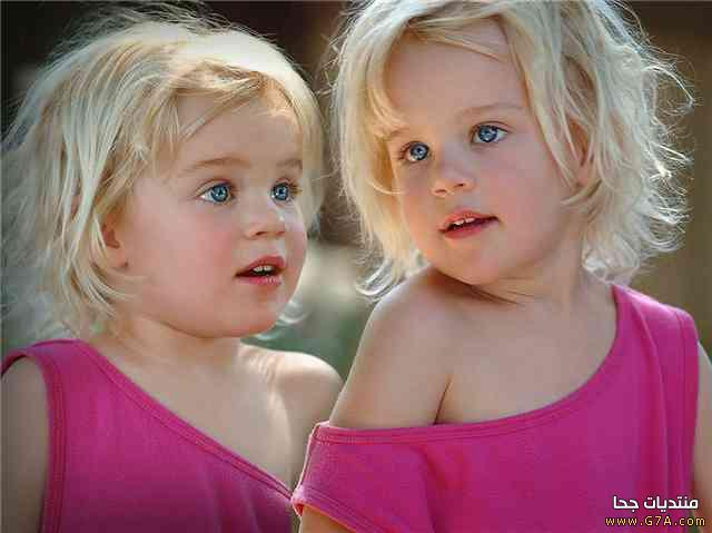 صور اطفال توائم اجمل صور اطفال توائم حلوين