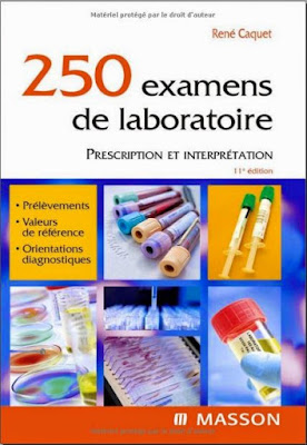 Télécharger Livre Gratuit 250 Examens de Laboratoire pdf