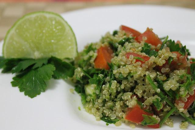 El capricho saludable Tabule di quinoa  Tabule sin gluten