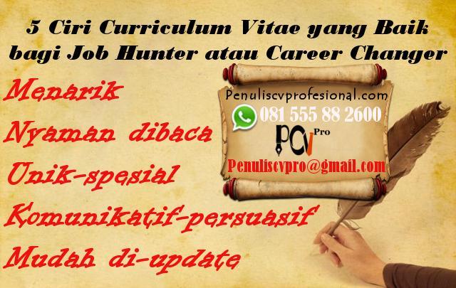 contoh curriculum vitae doc