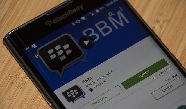 Cara Update BBM Versi Terbaru di Smartphone Android