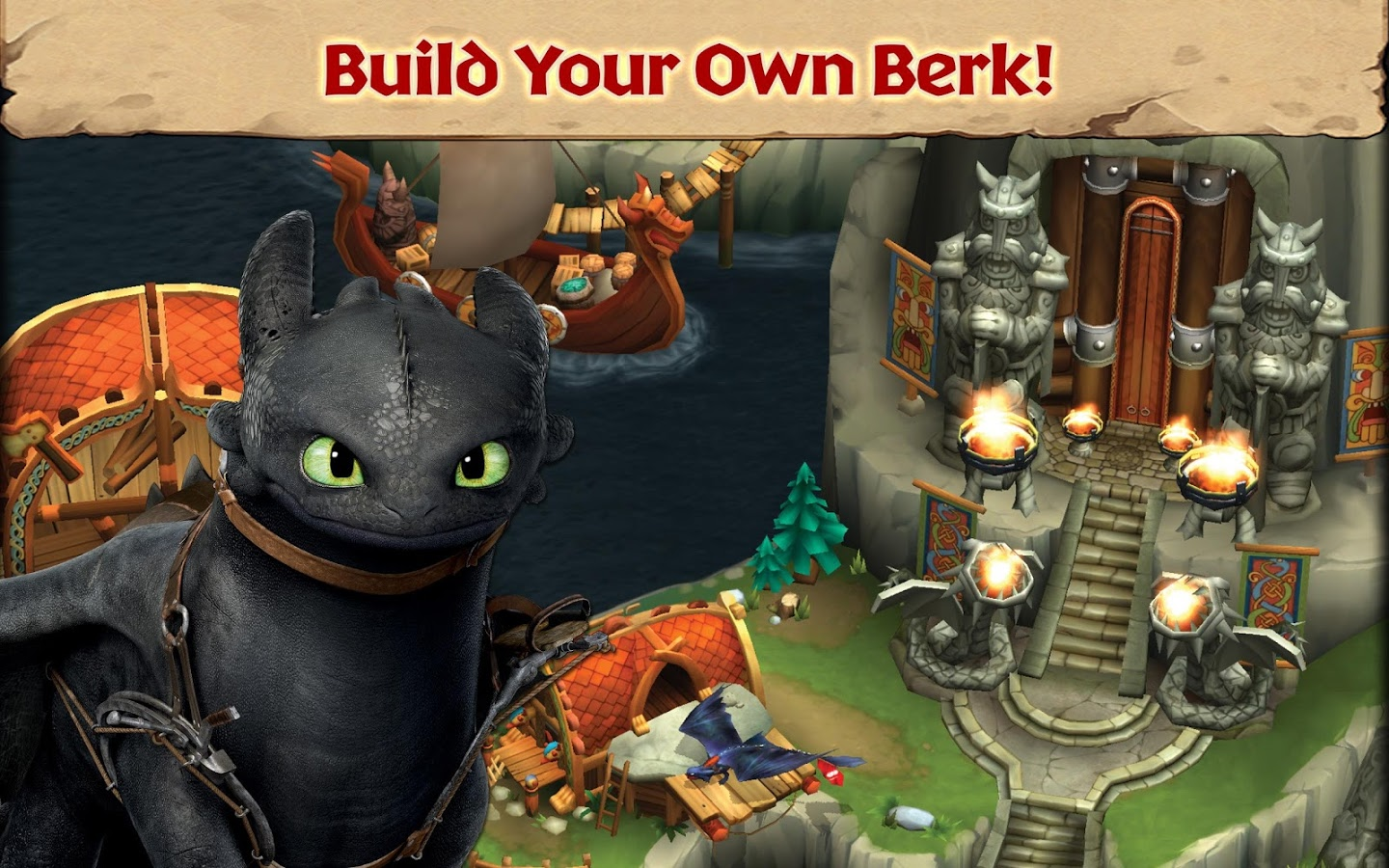 Dragons Rise of Berk MOD APK