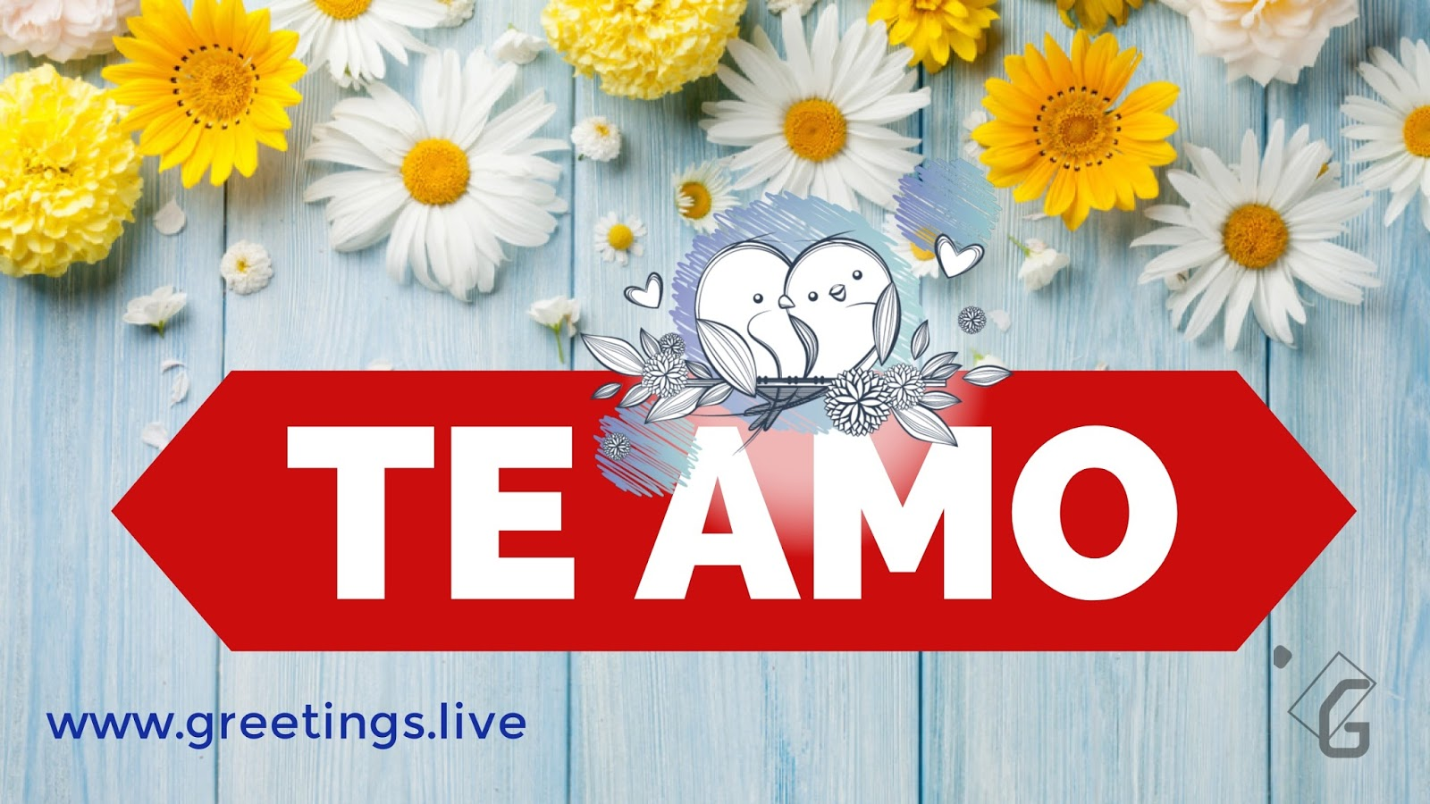 Te Amo Means I Love You In English Language   Greetings -8133