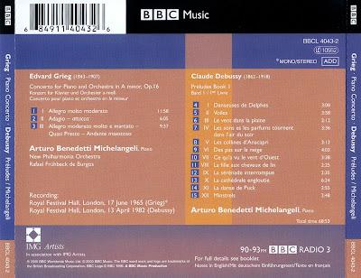 Edvard Grieg - Rafael Kubelik - Peer Gynt Suiten Nr. 1 and 2 Klavierkonzert