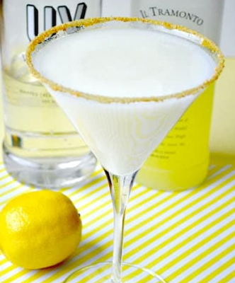 Lemon Meringue Martini
