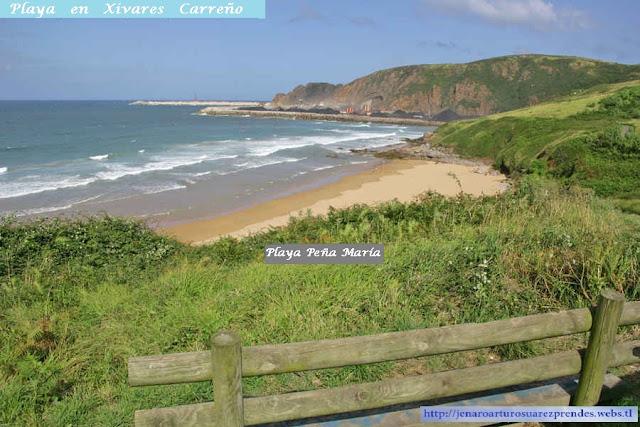 Playa Peña María Xivares Carreño