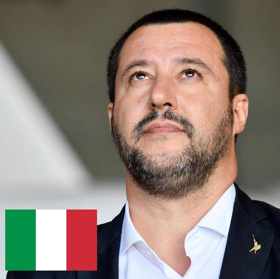 """Salvini: """"prekyba žmonėmis turi būti sustabdyta"""""""