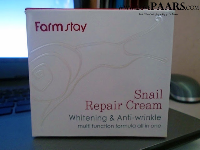 The Secret of SNAILS - FARMSTAY Snail Repair Cream