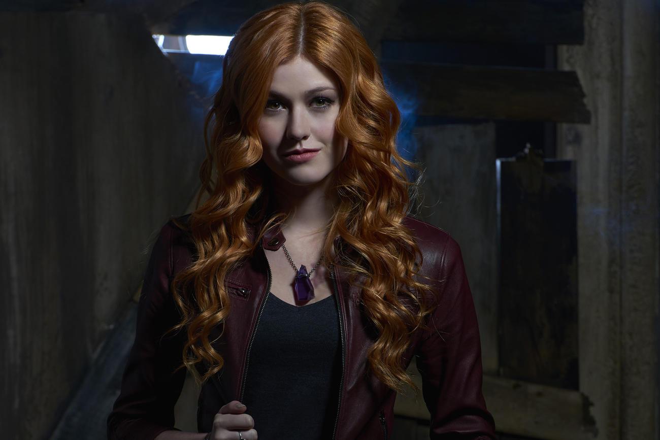 Katherine McNamara es Clary en Shadowhunters