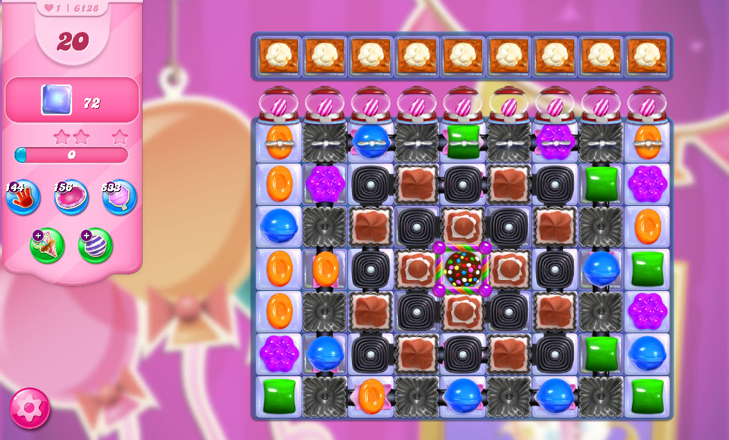 Candy Crush Saga level 6128