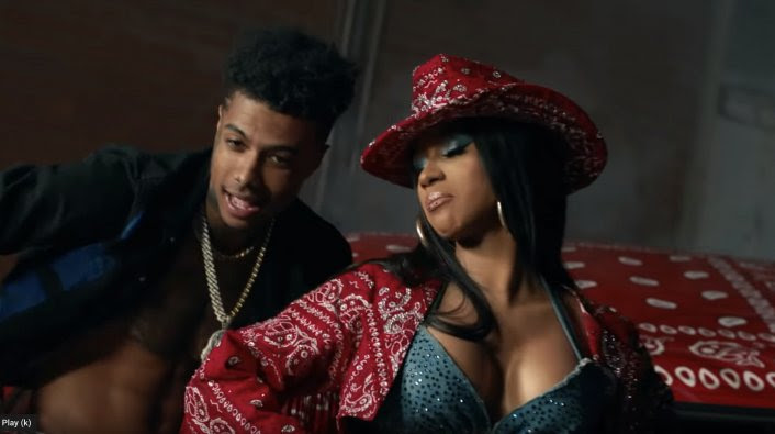 Blueface Drops Thotiana Remix Video Featuring Cardi B