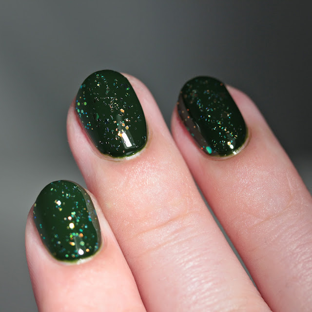 Night Owl Lacquer Potion Bubbles over Dead Inside