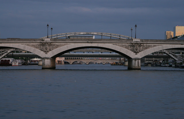 Panorama on the Seine bridges. Paris. Панорама мостов на Сене. Париж.