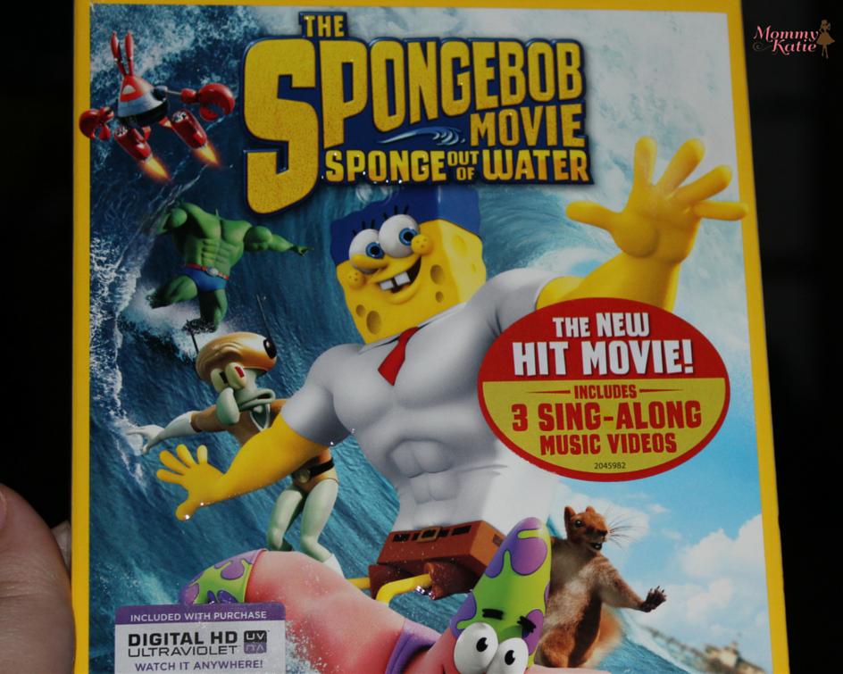 503d58ac52c #summerofspongebob The SpongeBob Movie: Sponge Out of Water on Blu-Ray