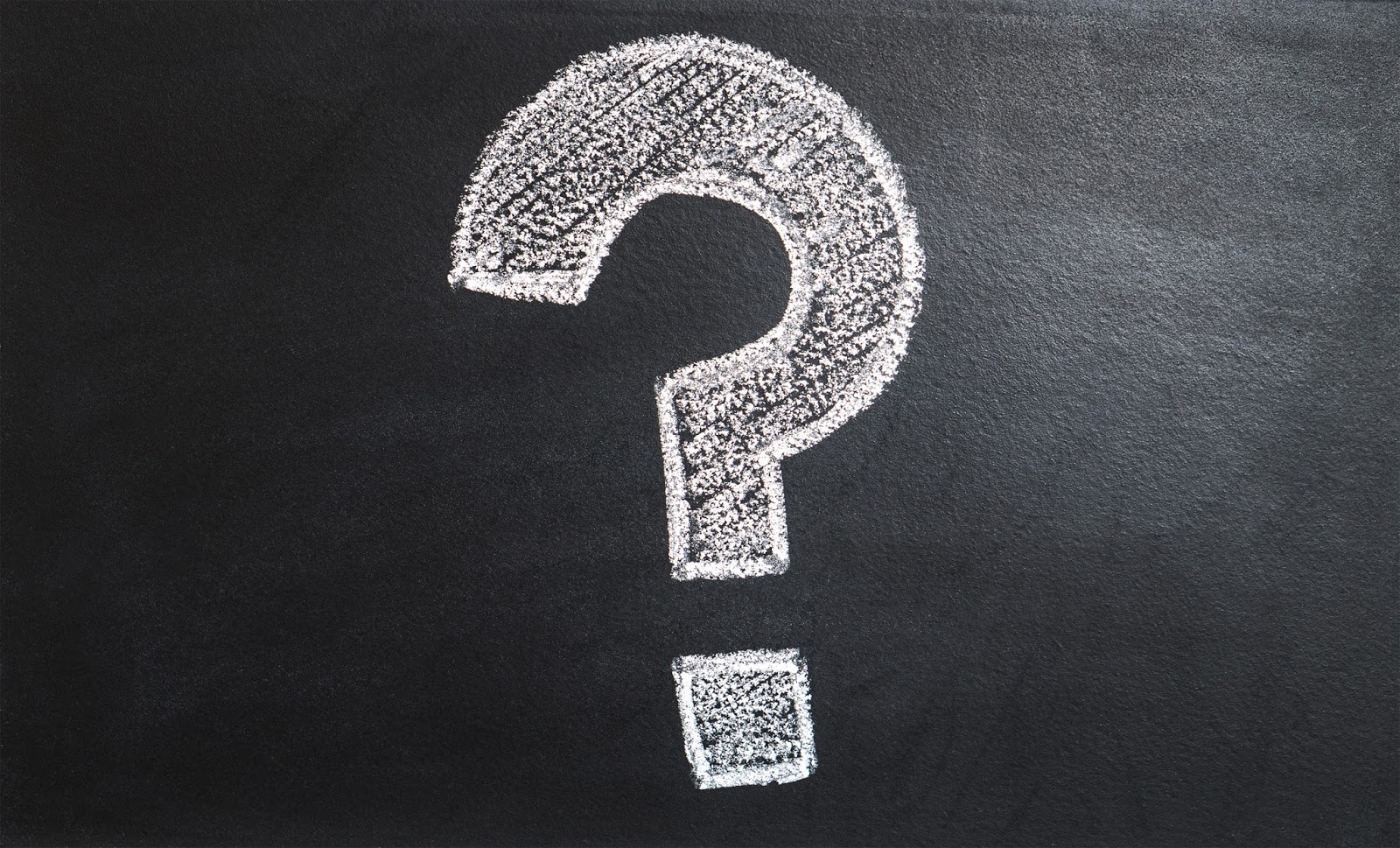 A big question mark