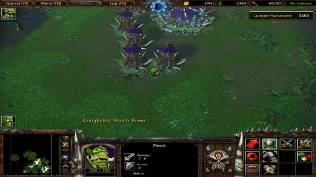 Download Warcraft 3 Reign of Chaos PC Games Gameplay