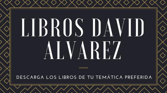Libros David Alvarez