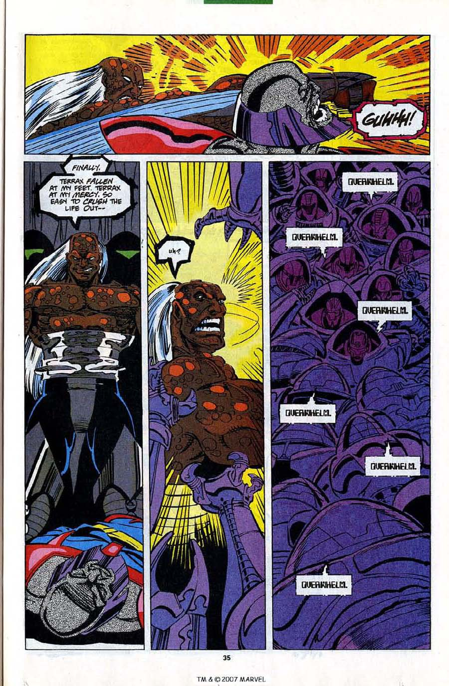 Read online Silver Surfer (1987) comic -  Issue #82 - 37