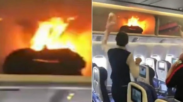 Kabin Pesawat Terbakar saat Pesawat akan Lepas Landas, Pramugari dan Penumpang Panik, Ini Sebabnya
