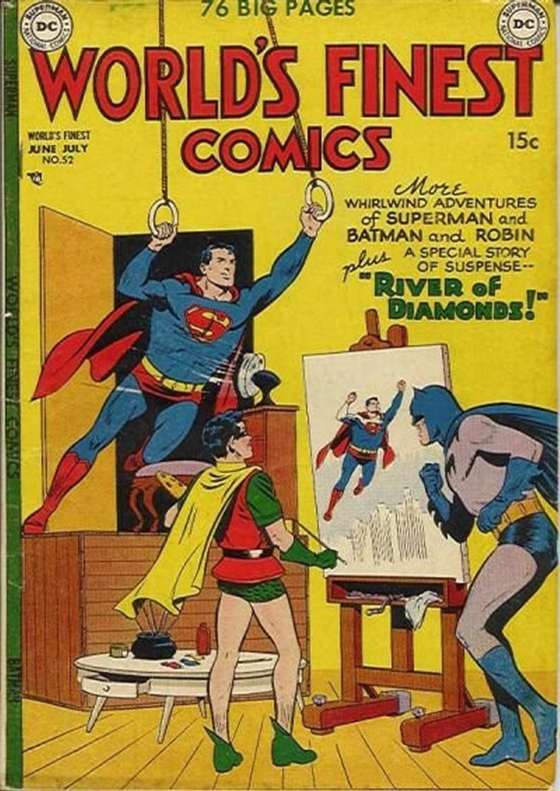 Read online World's Finest Comics comic -  Issue #52 - 1