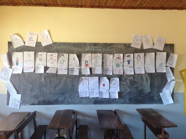 peace corps madagascar glow camp sava wall of strengths