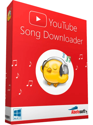 Abelssoft Youtube Song Downloader Box Imagen