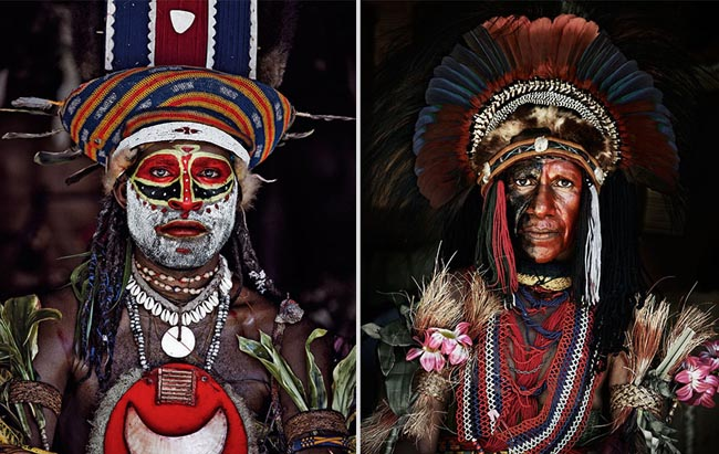 46 Must See Stunning Portraits Of The World's Remotest Tribes Before They Pass Away - Goroka, Indonesia and Papua New Guinea
