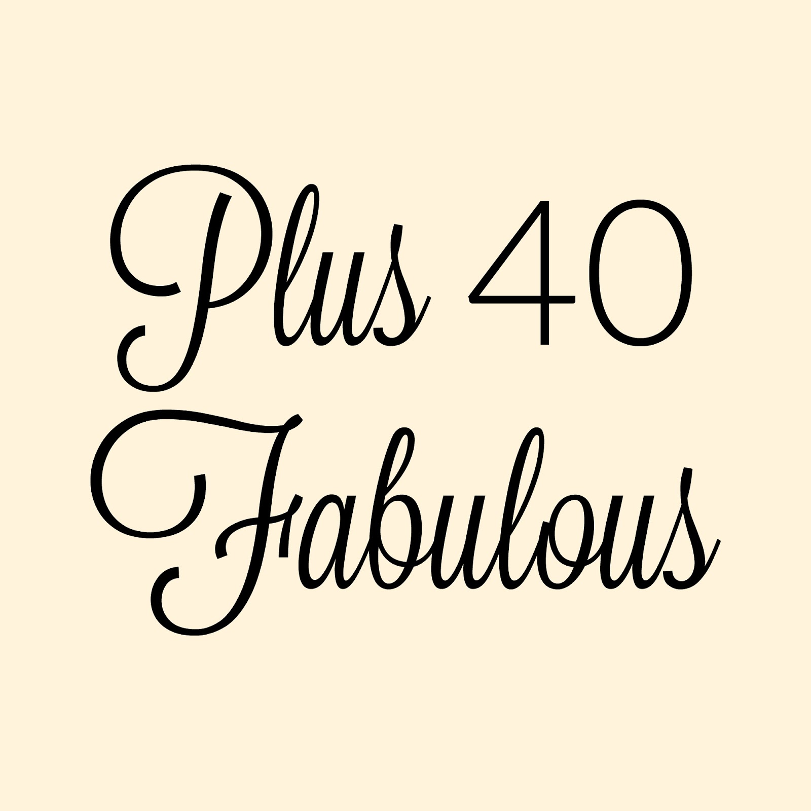 Plus 40 Fabulous: Childhood Fashion Inspo & Plus40Fab